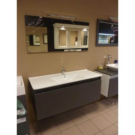 Meuble de salle de bain delpha 120cm sanidestock for Meuble de salle de bain delpha