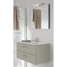 Sanijura Completino 100cm avec miroir et colonnes