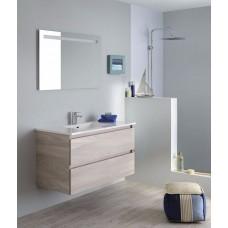 Sanijura Sobro 105cm Noyer clair avec miroir